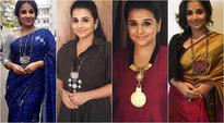 Vidya Balan and her statement necklaces have their own kahaani