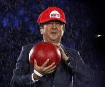 Shinzo Abe wows Rio finale as Super Mario