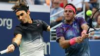 Swiss Indoors: Juan Martin del Potro sets up final showdown with Roger Federer in Basel