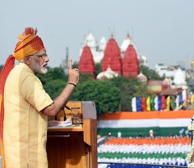 When PM pitched for New India at Red Fort