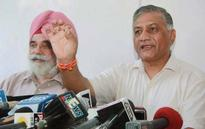 Union Minister V.K. Singh's Wife Accuses Man of Blackmail