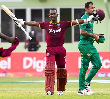 Windies record highest ODI run chase in win over Pakistan