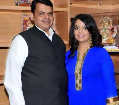 Maharashtra CM Fadnavis' wife trolled for 'spreading Christianity'