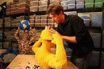Lawyer quits job to become a Lego artist