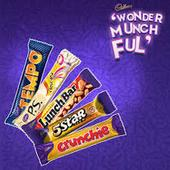 Express your Chocolate Joy by creating your own Cadbury WonderMunchFul words
