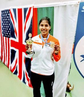 India's Bhavani Devi strikes gold at World Cup Fencing C'ship in Iceland