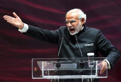 Modi in Moscow: PM takes jibe at Opposition while addressing Indian diaspora