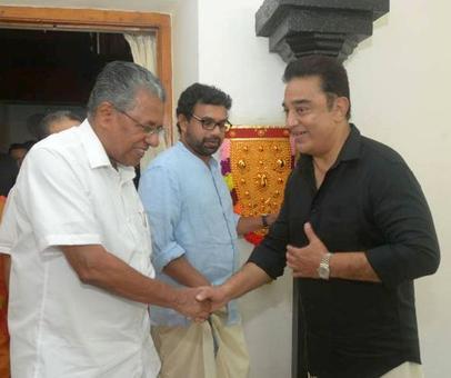 Saffron is not my colour, says Kamal Haasan after meeting Kerala CM