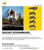 Ducati Scrambler price slashed by more than 10%  Demonetization effect?