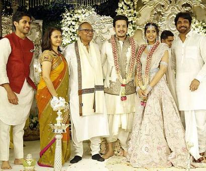 PIX: Nagarjuna's son Akhil gets engaged