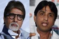 Big B slaps notice on Kumar Vishwas