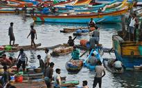 Fishermen rally in protest against setting up of commercial ports in Innayam