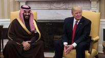 Donald Trump praises US military sales in talks with Saudi crown prince