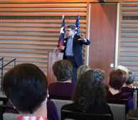 Gov. Perry speaks to women's club