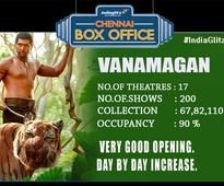 Chennai Box Office Status (June 23rd - June 25th)