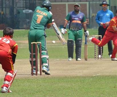 When China was humiliated on cricket field