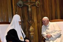 Pope, Russian orthodox leader bridge 1,000-year rift in Christianity