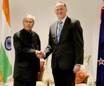 India, New Zealand friendship will strengthen further: Pranab Mukherjee