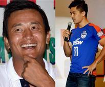 Bhaichung Bhutia has always been my inspiration: Sunil Chhetri