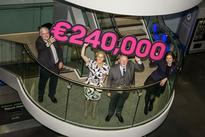 Dublin Airport Authority raises €240,000 for three Irish charities in 2015