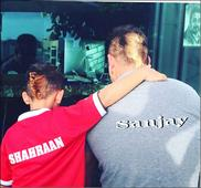 Sanjay Dutts bonding time with son Shahraan Dutt