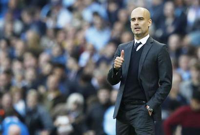 Football Briefs: Guardiola sees Barca as Euro favourites