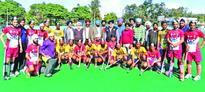 4th Sant Gurbaksh Singh (Danna) Hockey Tournament;JKP, Punjabi University, SGPC Amritsar, New Gurdaspur Club win ties