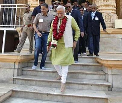 Nehru was unhappy with building Somnath temple: PM