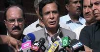 PML-N's govt is under threat, not CPEC: Ch Parvez Elahi