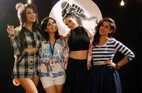 Sunny Leone visited MTV Girls On Top set to applaud the girls on their fierce tenacity