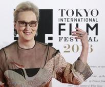 Streep, Abe open Tokyo Film Fest