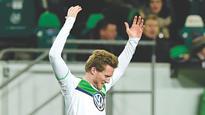 Schuerrle sends Wolfsburg thru'