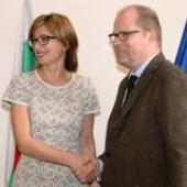 Bulgarian Justice Minister met with a delegation from the German Federal Ministry of Justice (ROUNDUP)