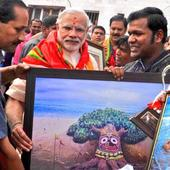 PM Narendra Modi invited Odisha-based artist Sudarsan Pattnaik to train the youngster of Gujarat about sand art
