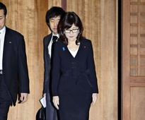 Japan defense minister visits WWII shrine, outraging Chinese and Koreans