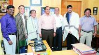 Japanese team visits Andhra University for collaboration