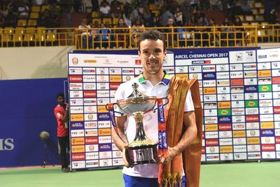 Agut subdues Medvedev to lift Chennai Open title