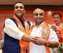 Vijay Rupani sworn in CM of Gujarat