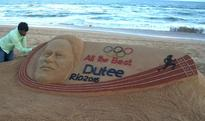 Sandy congratulations to Dutee Chand for qualifying Olympics
