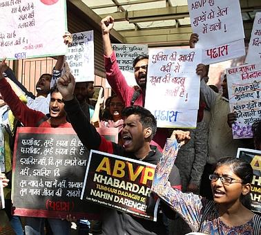More DU student marches today; Gurmehar withdraws from campaign