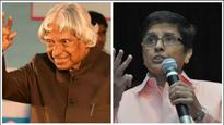 SEE PIC: Kiran Bedi tweets a picture of Dr APJ Abdul Kalam's chappals to highlight his simplicity