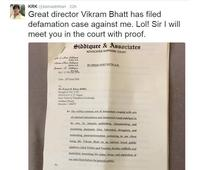 Vikram Bhatt-KRK controversy: KRK shares and deletes mean tweet post defamation case