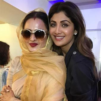 What are Rekha, Shilpa doing together?