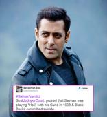 Salman Khan's acquittal in the Arms Act case leaves Twitter in a FRENZY