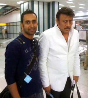 Spotted: Jackie Shroff at Ahmedabad aiport