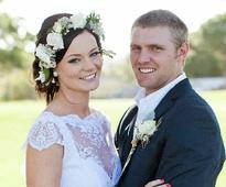 Couple's wedding featured in national bridal magazine
