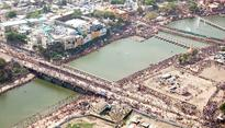 Sea of humanity descends on Ujjain for final Simhastha Kumbh shahi snan