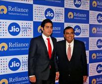 Reliance Industries shares on song