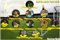 Burton Albion team news: one change for Brewers as Sordell starts on bench against Preston