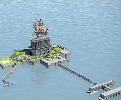 PIL in HC seeks scrapping of Shivaji memorial project